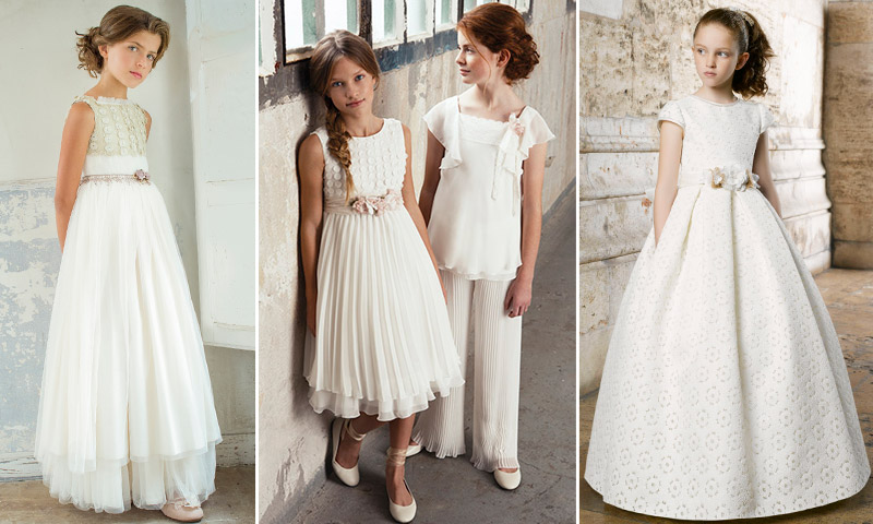 vestidos de primera comunion revista hola