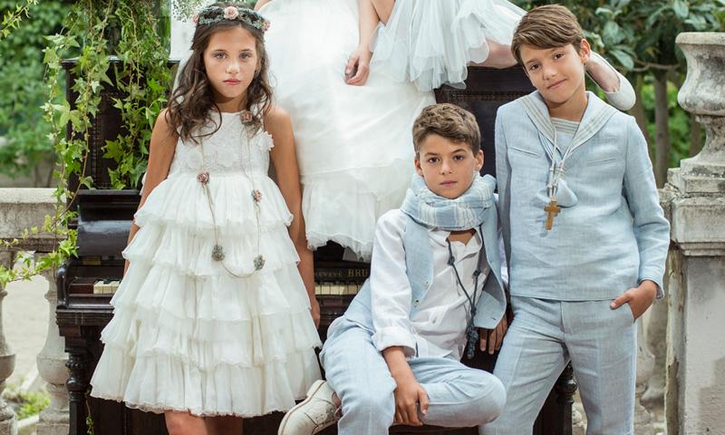 fotos de ninos de comunion famosos