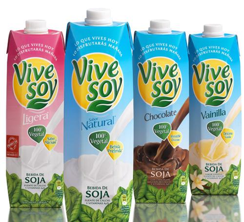 leche de soja vivesoy informacion nutricional