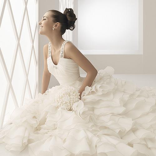 Disenador vestido novia paula echevarria