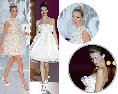 Kate Moss: Un vestido de novia \'top\'