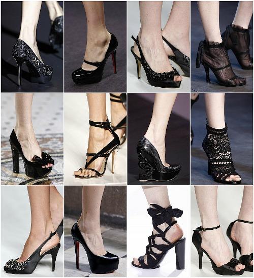 Zapatos adecuados para vestidos de noche