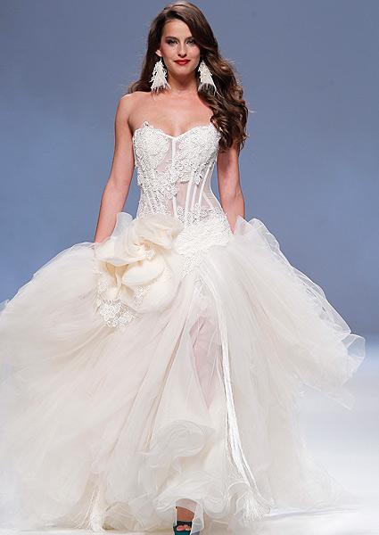 vestidos de novia mas impresionantes – mini vestidos