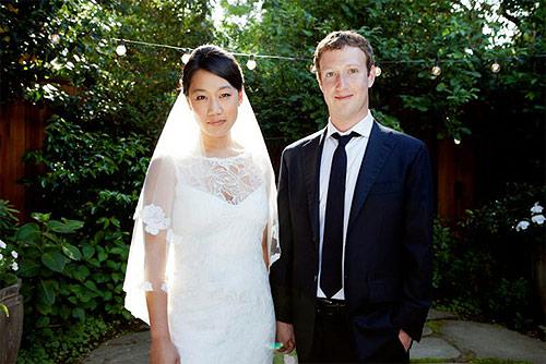 Quieres el vestido de novia de la mujer de Mark Zuckerberg?