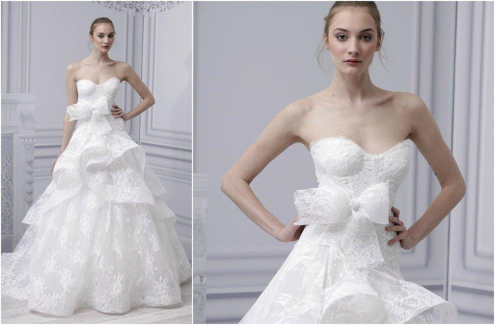 vestidos de novia peplum | hola