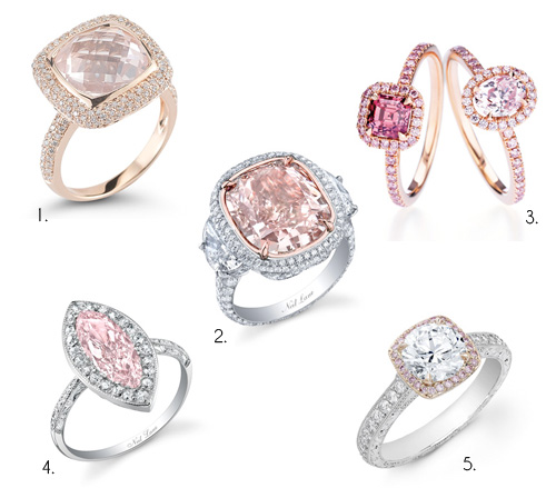Un anillo color rosa para San Valentín