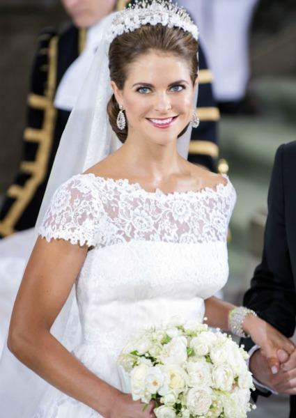 Magdalena de Suecia y Catherine Middleton, dos inolvidables novias ...