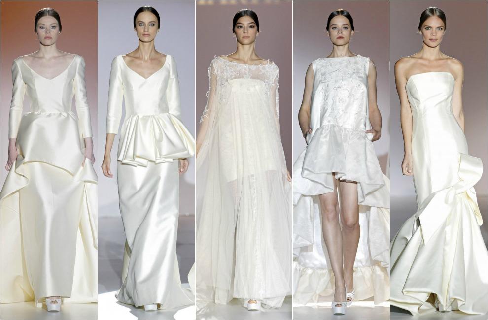 Juana Martín y Carla Ruiz cierran los desfiles de la Barcelona Bridal Week