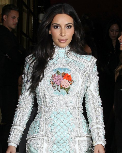 Vestido de novia kim kardashian y kanye west