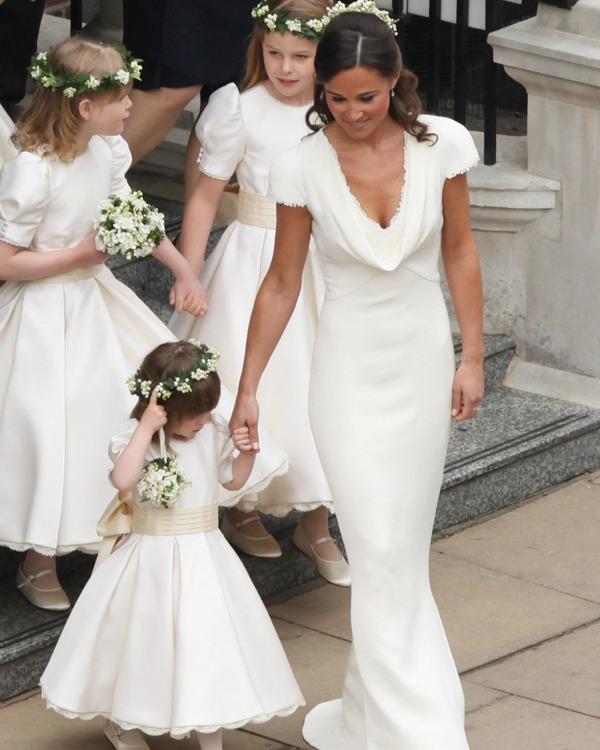 pippa middleton habla por primera vez sobre su vestido de dama de