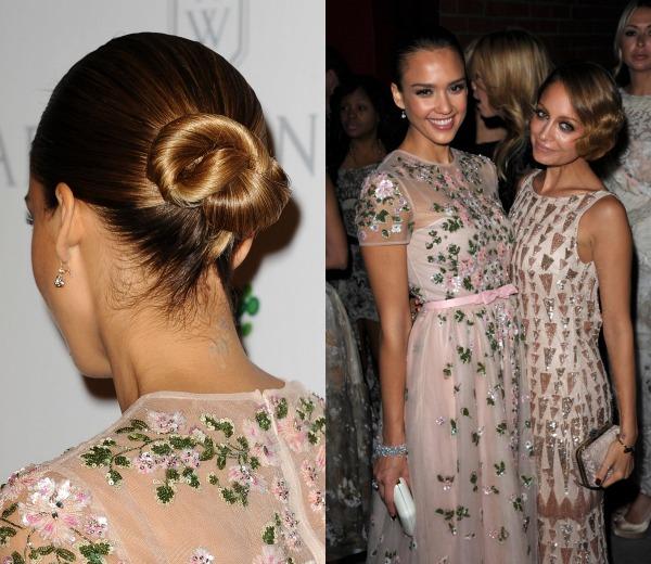 Peinados de novia de las famosas