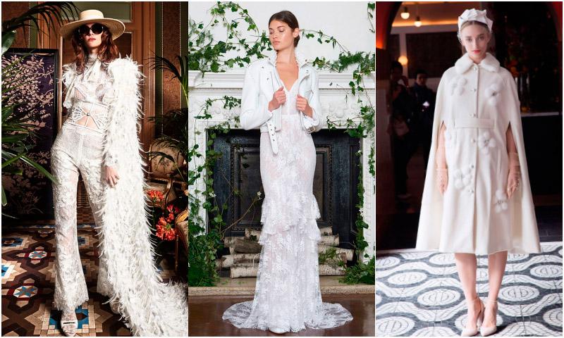 ¿Te casas en invierno? Toma nota de estas 12 prendas de abrigo para novias de cuento