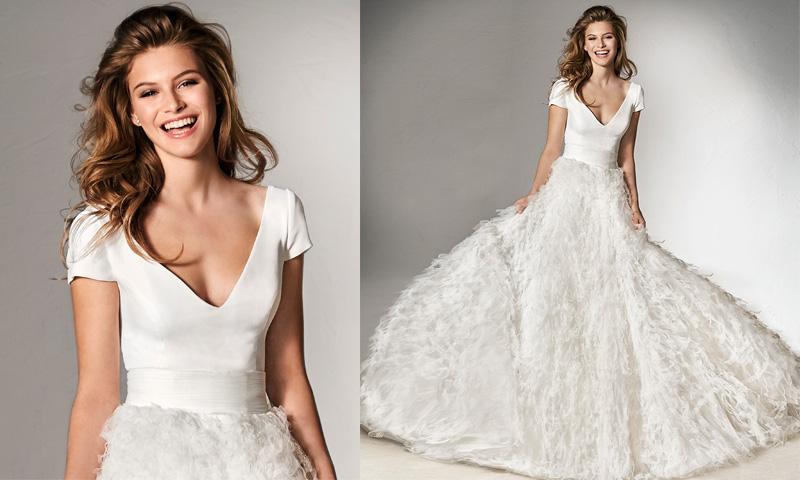 ¿Y si pudieses crear tu propio vestido de novia? Llega Pronovias Separates