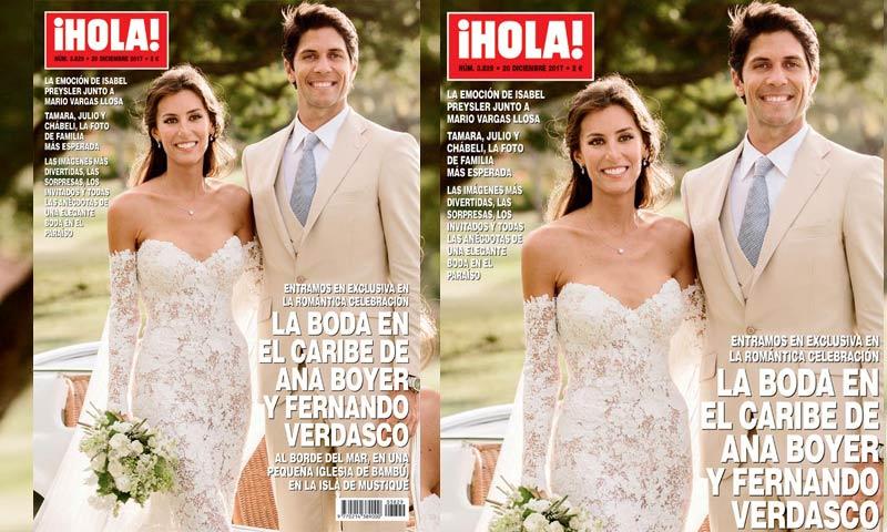 Exclusiva en ¡HOLA!, la boda en el Caribe de Ana Boyer y Fernando Verdasco