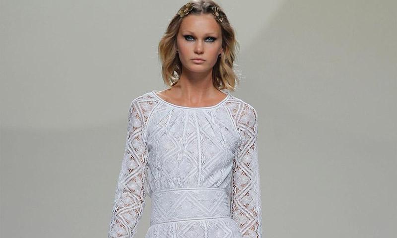 Lo que nunca debe hacer una novia cuando va a elegir su vestido, según Teresa Helbig
