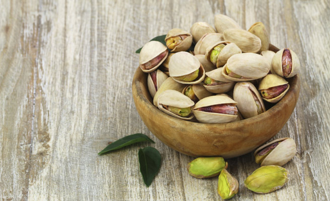 Producen estrenimiento pistachos los