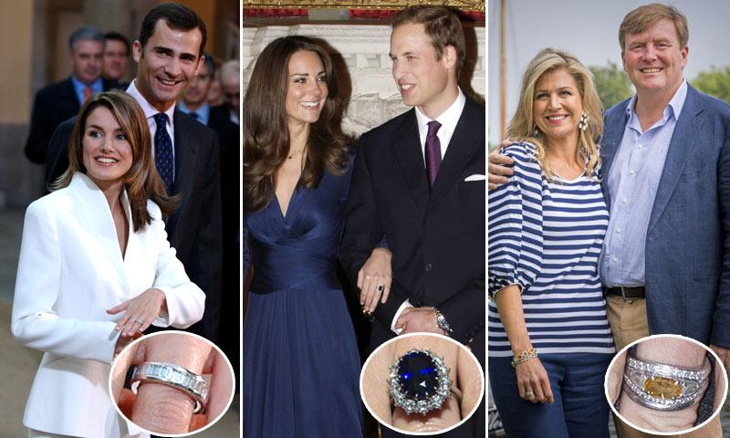 Lo que esconden los anillos de compromiso de la realeza