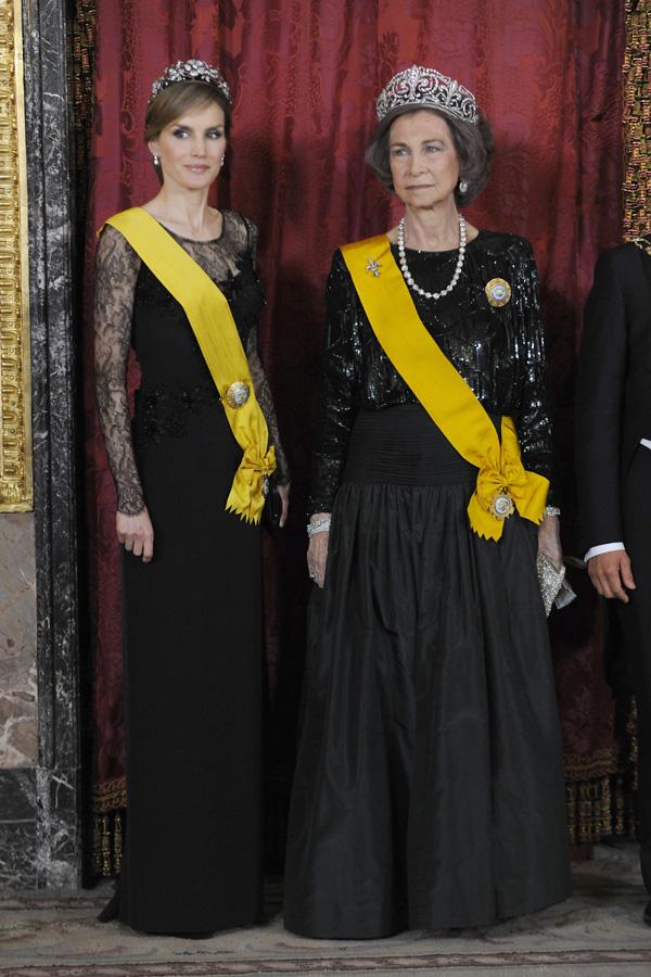 eda3430f3 Cena de gala en el Palacio Real en honor del Presidente de México