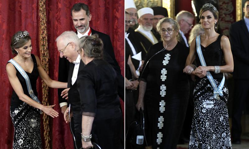 Don Felipe y doña Letizia, perfectos anfitriones en el Palacio Real con sus invitados de honor