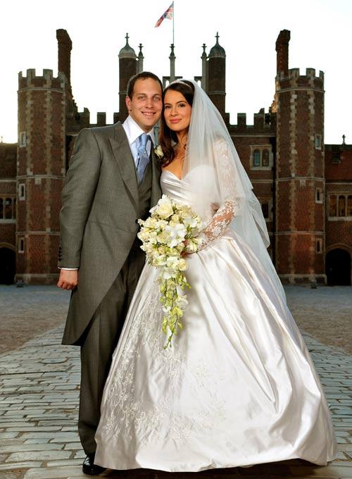 La nobleza inglesa se da cita en el enlace matrimonial de Lord ...