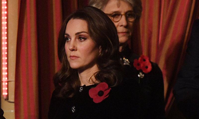 La Duquesa de Cambridge, de concierto con la Familia Real británica