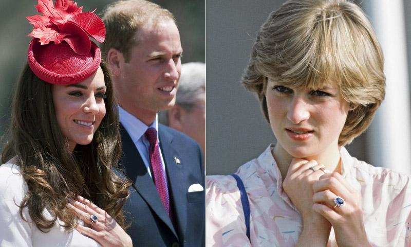 ¡Pacto entre caballeros! ¿Por qué Kate se quedó con el anillo de Diana si era un recuerdo de Harry?