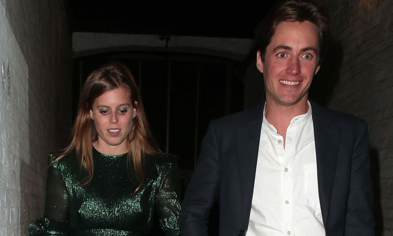 Beatriz de York y Edoardo Mapelli Mozzi, la pareja real del momento, reaparecen tras su anuncio de compromiso