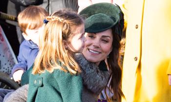 Kate Middleton nos descubre un entrañable momento maternal con su hija Charlotte