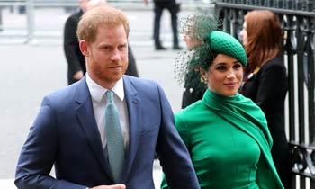 Los duques de Sussex se despiden de su papel de 'royals' rodeados de la familia y en la Abadía de Westminster