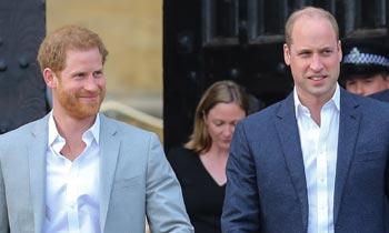 Los príncipes Guillermo y Harry se enteraron por teléfono del positivo de su padre en coronavirus