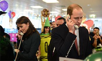 De la Reina a los duques de Cambridge: así está animando la Familia Real británica a los sanitarios