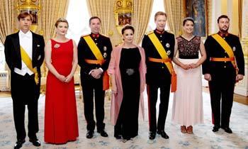 El gran duque de Luxemburgo celebra su cumpleaños por todo lo alto en el Día Nacional