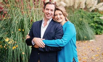 ¡Es un niño! Guillermo y Stéphanie de Luxemburgo dan la bienvenida a su primer hijo