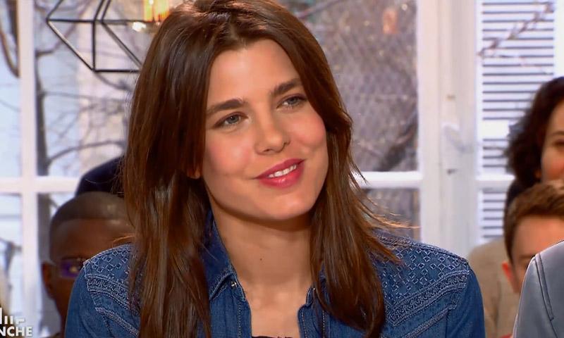 ¡En televisión y hablando de amor! Carlota Casiraghi reaparece tras conocerse que se va a casar