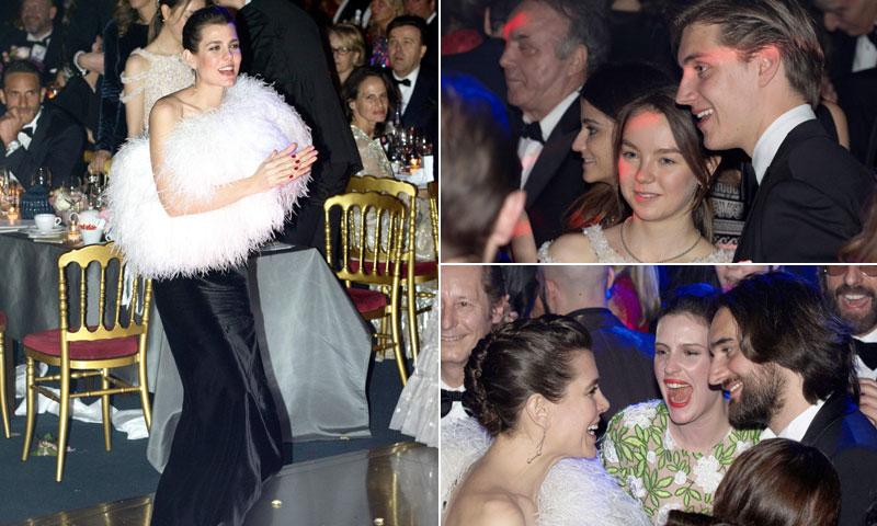 Las nuevas generaciones de los Grimaldi toman la pista de baile en Montecarlo