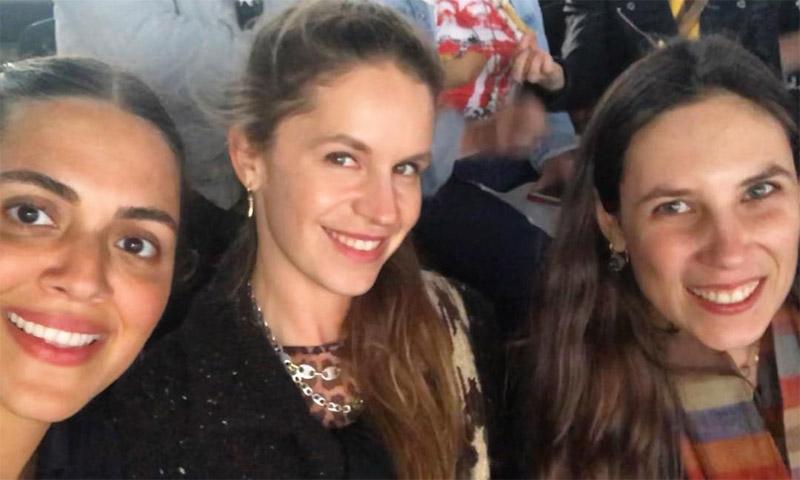 ¡Mamá rockera! La aparición de Tatiana Santo Domingo tras ser madre y tía de nuevo