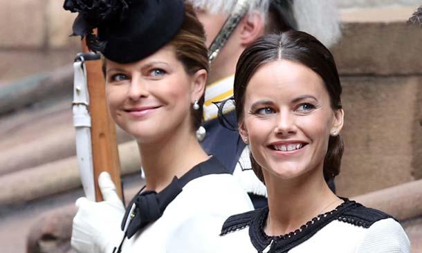 Magdalena y Sofia de Suecia, idéntica elegancia en la apertura del Parlamento
