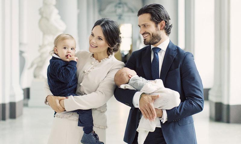 Estos son los detalles del bautizo del Príncipe Gabriel de Suecia