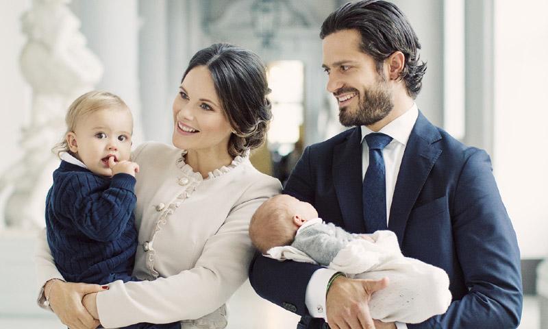 ¡Arranca la cuenta atrás para el bautizo de Gabriel de Suecia! Estos son sus cinco padrinos