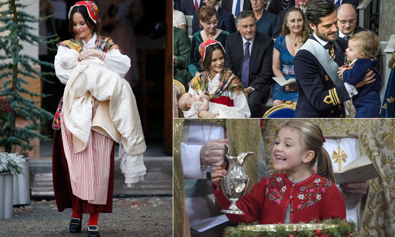 ¿Por qué el bautizo de Gabriel de Suecia ha sido diferente?