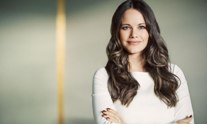 Nuevo retrato oficial de Sofía de Suecia con motivo de su 33 cumpleaños