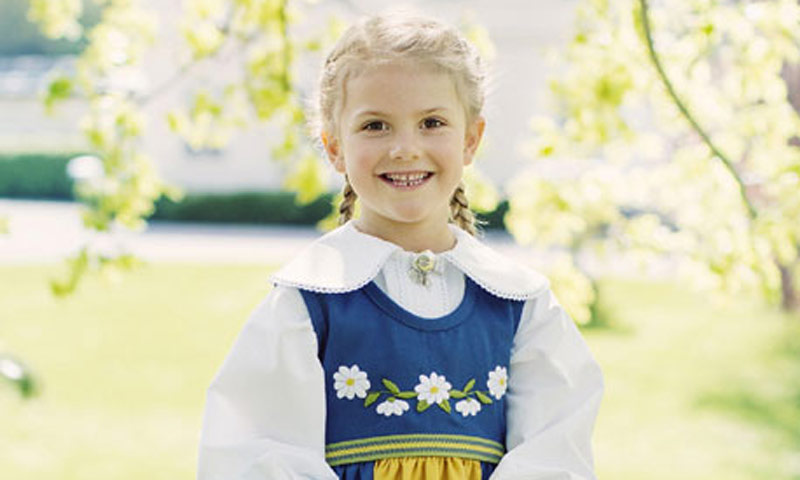 Estelle de Suecia cumple seis años: repasamos sus momentos más divertidos