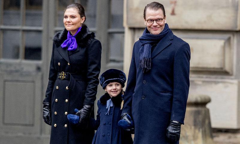 Estelle y la nueva princesa, Adrienne, 'roban' el protagonismo a Victoria de Suecia