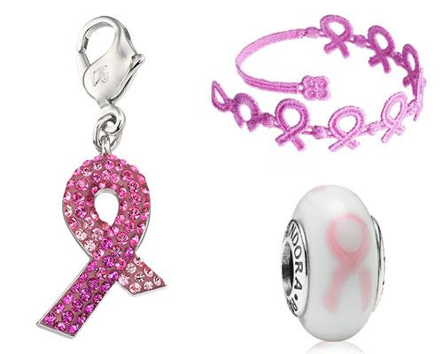 pulsera pandora cancer mama