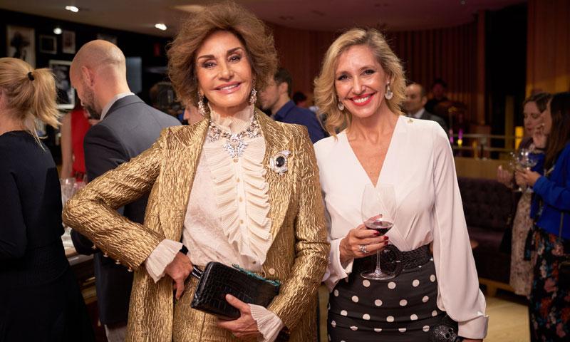 Naty Abascal, Marta Robles y Fiona Ferrer se convierten en 'sumillers' por una noche