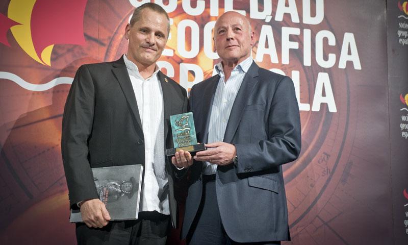 Viggo Mortensen, galardonado por su faceta más desconocida: la de editor de libros