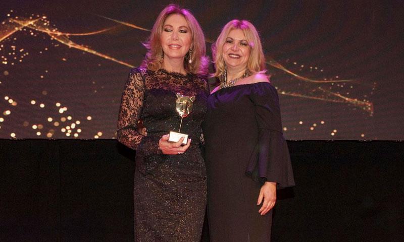 Norma Duval recibe el galardón 'Celebrity Luxury'