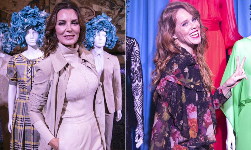 Mar Flores y María Castro acompañan a Roberto Verino en la inauguración de 'Madrid es Moda'
