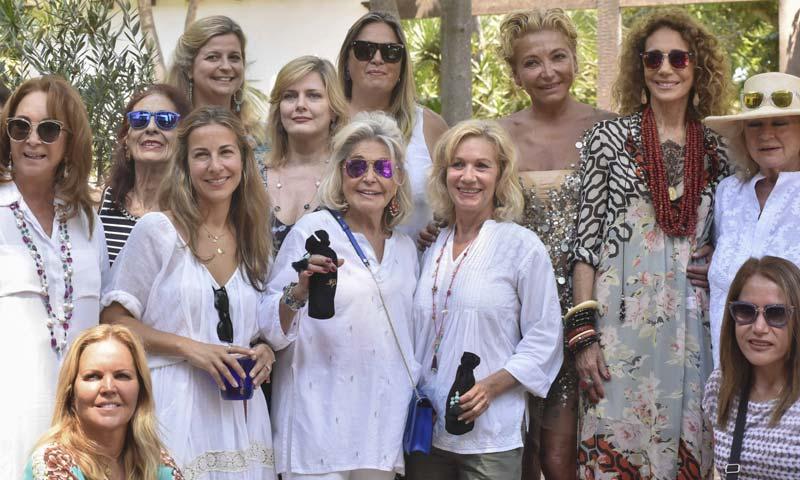 La actriz Marisa Berenson revive el glamur marbellí en una 'beauty party'