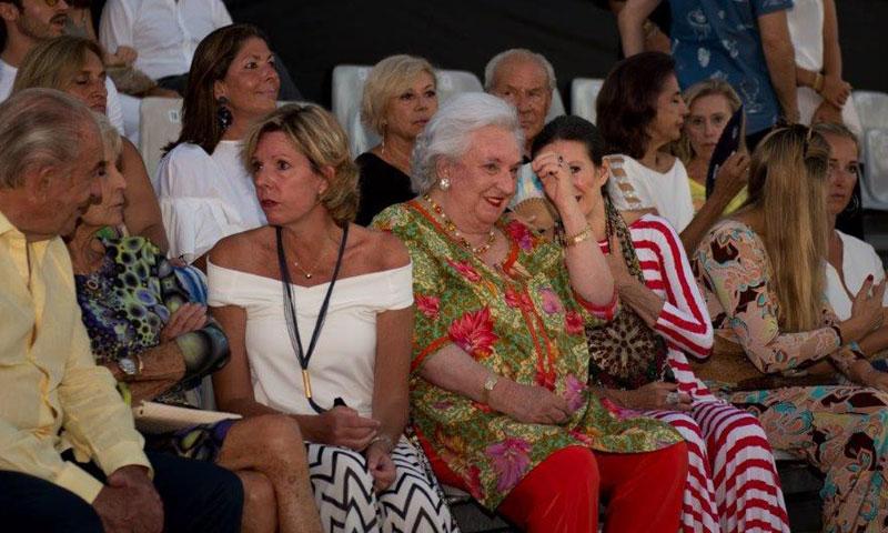 La infanta Pilar, invitada de honor en la primera edición de Mallorca Fashion Week